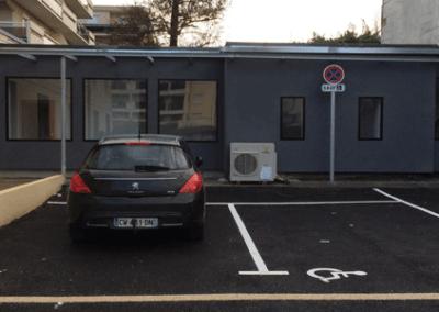 Mise en accessibilité d'un ERP à Pessac en Gironde (33)