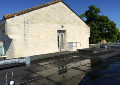 Rehaussement cage d'ascenseur – Clinique Château LEMOINE (Cenon)