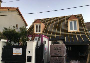 Travaux de remise en état suite à un incendie à Drancy (93)