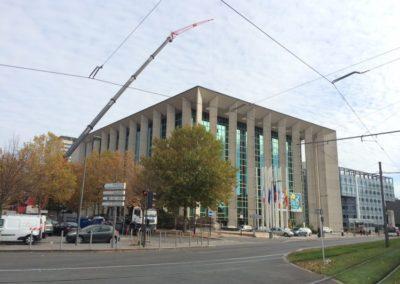 Réparation après sinistre de l'hôtel de région de Bordeaux (33)